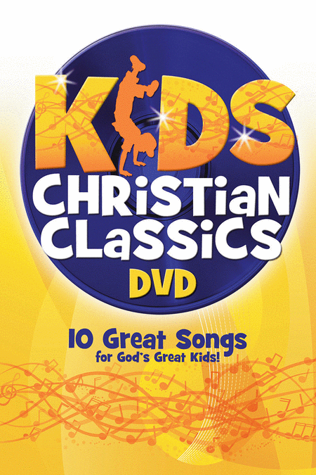 Kids Christian Classics DVD (Split Track For Performance)