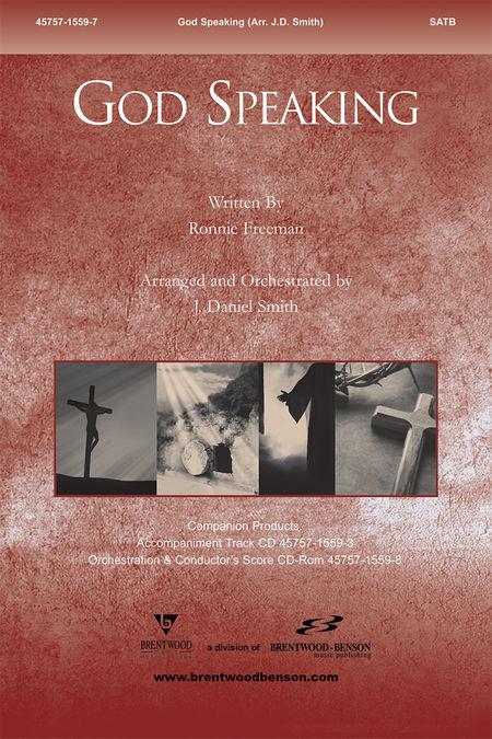 God Speaking (Split Track Accompaniment CD)