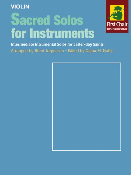 Sacred Solos for Instruments - Violin