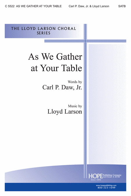 As We Gather at Your Table