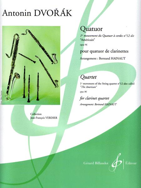 Quatuor (1er mouvement du Quatuor a cordes No. 12