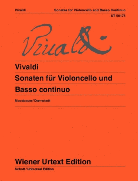 Complete Sonatas for Cello and Basso Continuo