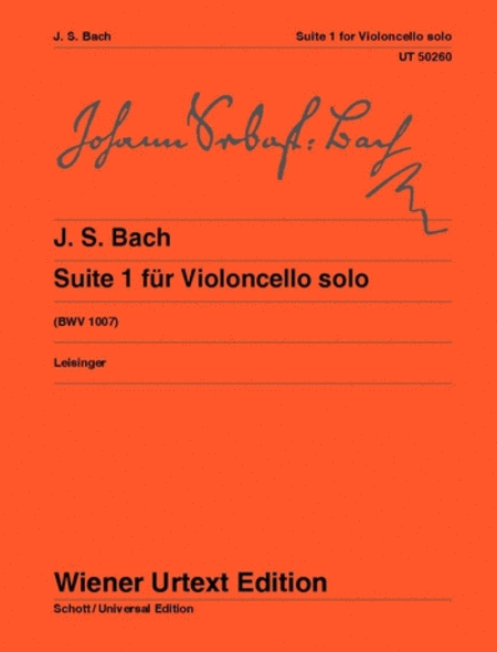 Suite No. 1 for Violoncello solo