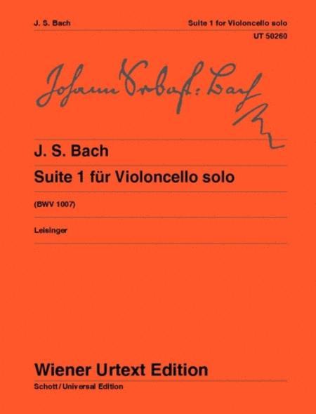 Suite No. 1 for Violoncello solo