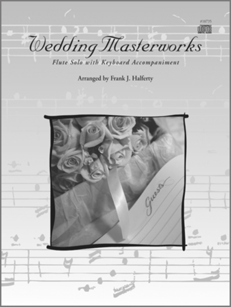 Wedding Masterworks - Flute (Book w/CD)