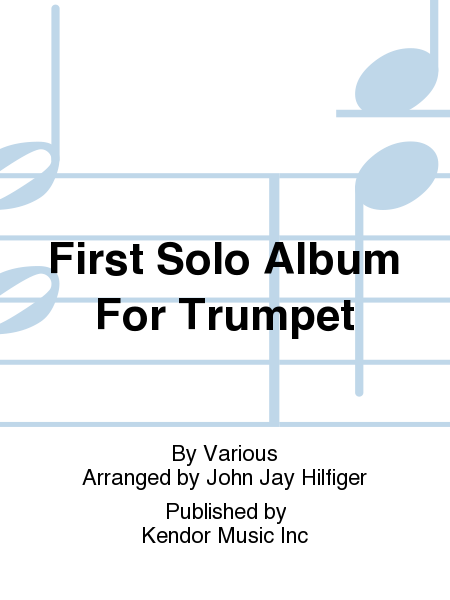 First Solo Album For Trumpet