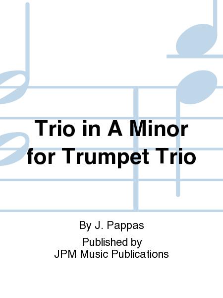 Trio in A Minor for Trumpet Trio