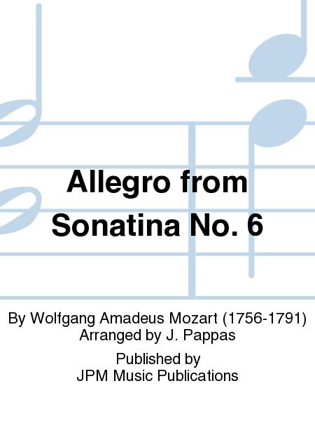 Allegro from Sonatina No. 6
