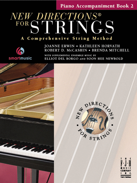 New Directions For Strings, Piano Accompaniment Book 2