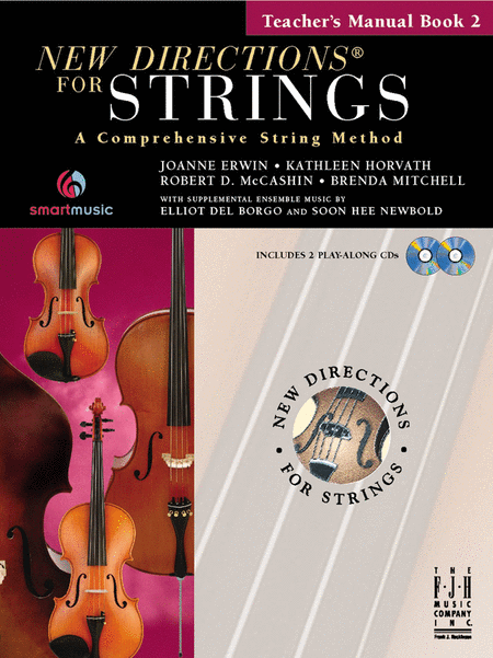 New Directions For Strings, Teacher's Manual Book 2