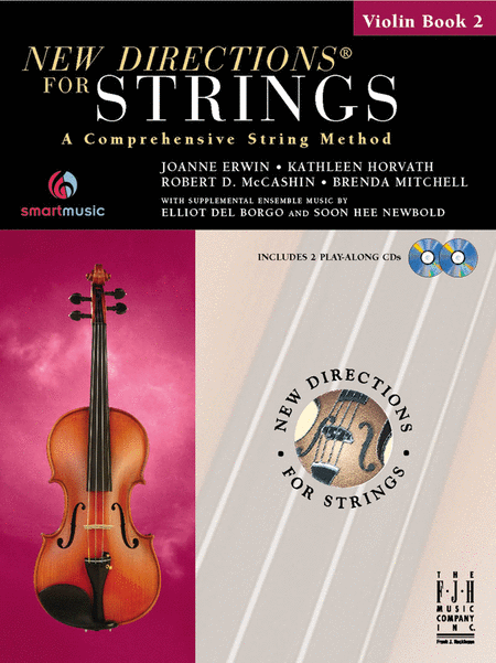 New Directions For Strings, Violin Book 2