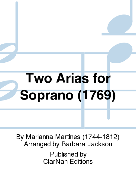 Two Arias for Soprano (1769)