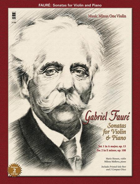 Faure: Sonatas for Violin and Piano