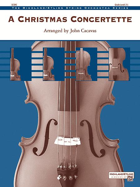 A Christmas Concertette (score only)