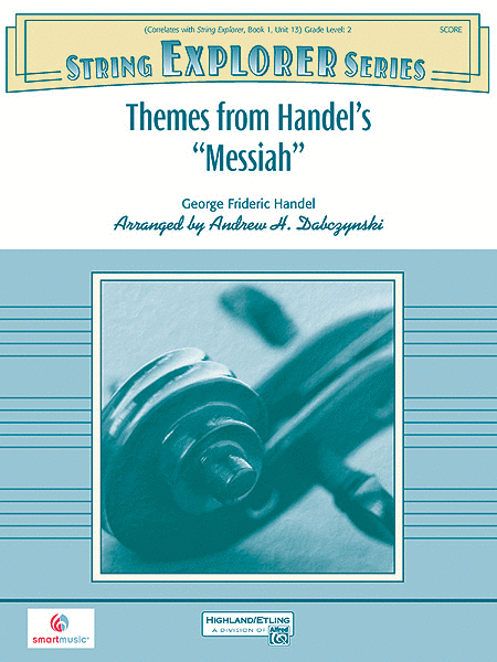Themes from Handel's Messiah (score only)