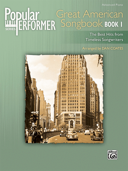 Popular Performer -- Great American Songbook, Book 1