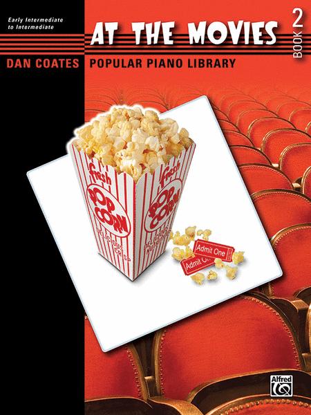 Dan Coates Popular Piano Library -- At the Movies, Book 2
