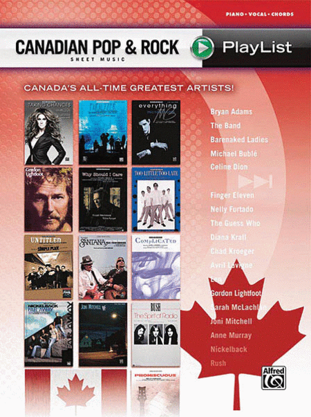 Canadian Pop & Rock