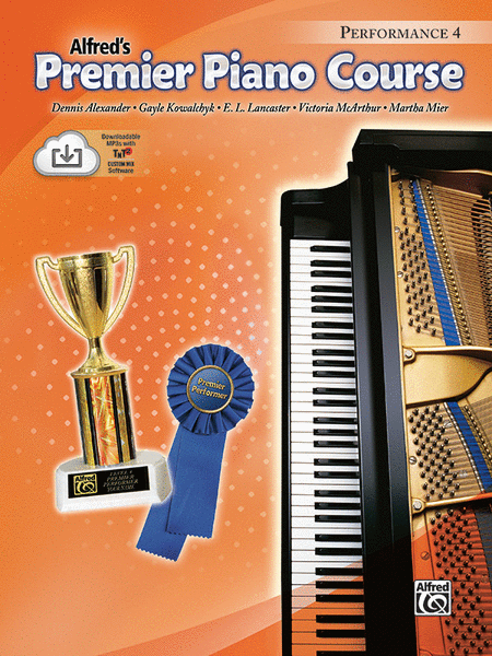 Premier Piano Course Performance, Book 4