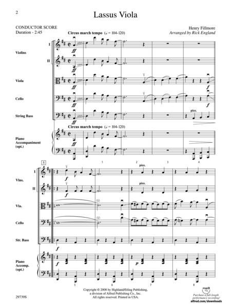 Lassus Viola (score only)