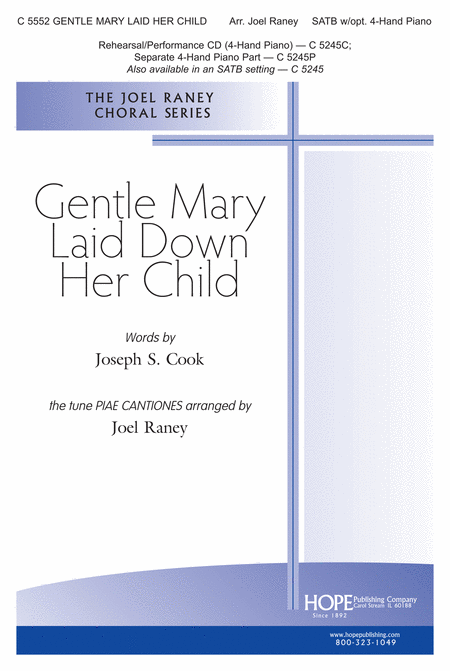 Gentle Mary Laid Her Child