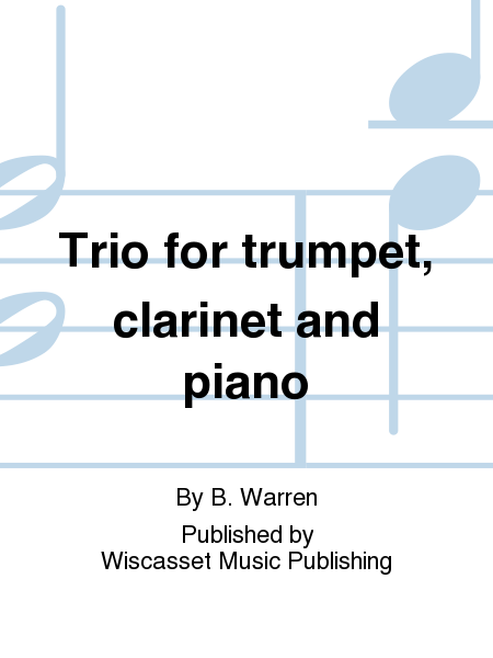 Trio for trumpet, clarinet and piano