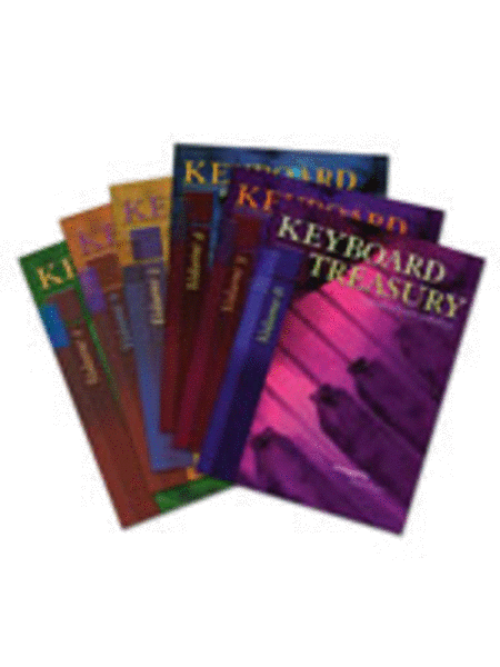 Keyboard Treasury - Set (Vols. 1-6)
