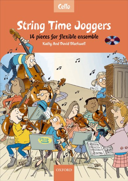 String Time Joggers Cello book (with CD)