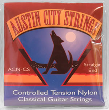 Austin City Strings: Classical Guitar Strings, Controlled Tension Nylon Straight End