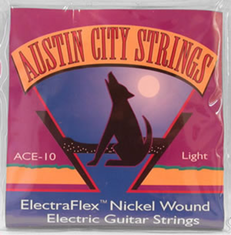 Austin City Strings: Electric Guitar Light Nickel Wound