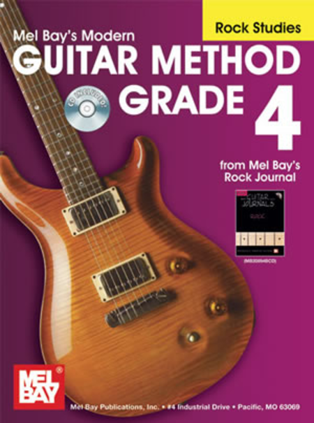 Modern Guitar Method Grade 4, Rock Studies