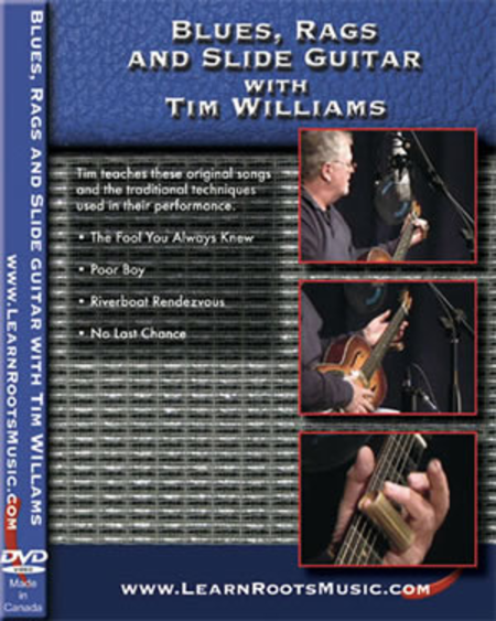 Blues, Rags and Slide Guitar With Tim Williams