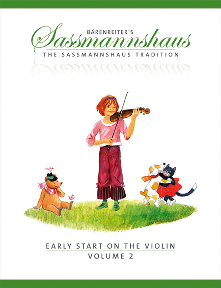 The Sassmannshaus Tradition: Early Start on the Violin, Volume 2