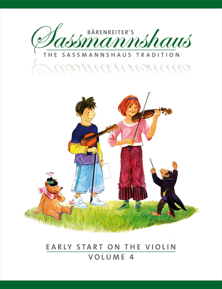 The Sassmannshaus Tradition: Early Start on the Violin, Volume 4
