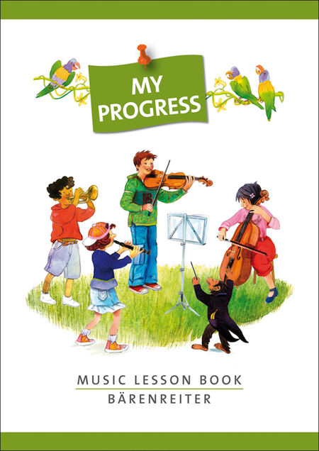 My Progress: Music Lesson Book