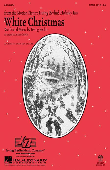 White christmas sheet music by irving berlin sheet music for Who wrote the song white christmas