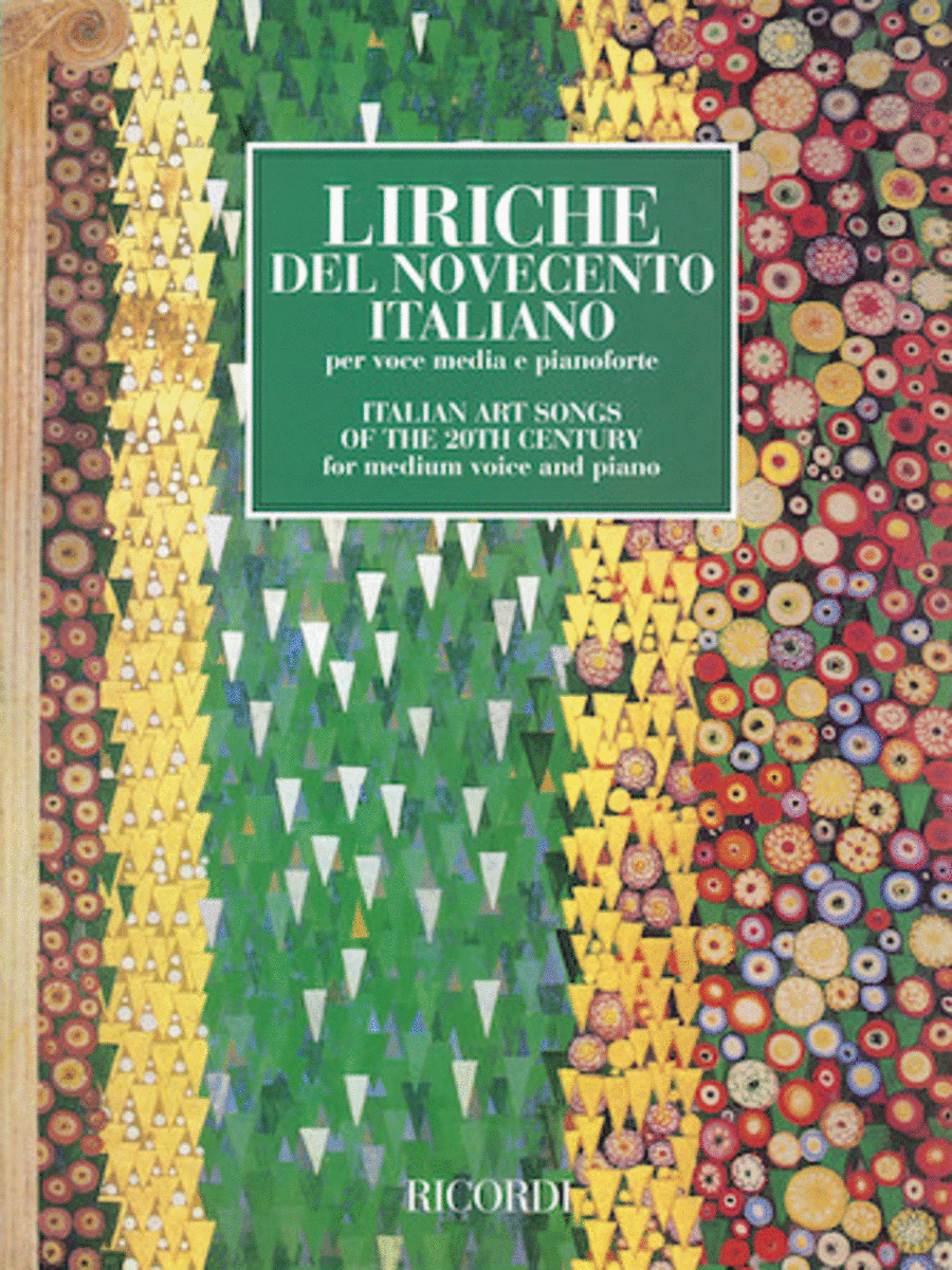 Italian Art Songs of the 20th Century