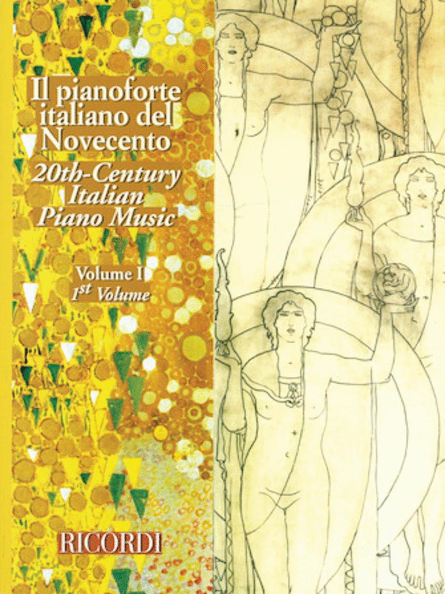 20th Century Italian Piano Music - Volume 1
