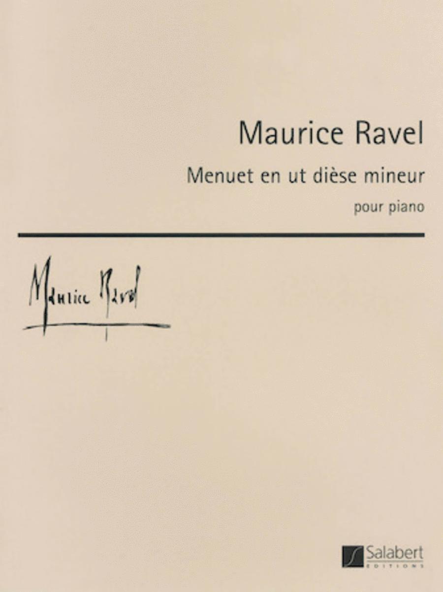 Ravel - Menuet en ut diese mineur