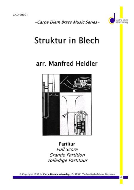 Struktur in Blech