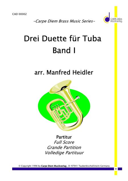 Drei Duette fur Tuba Band 1