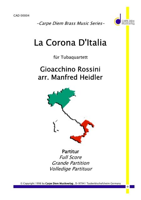 La Corona D'Italia (Tuba Quartett)