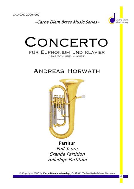 Concerto fur Euphonium und Klavier