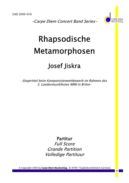 Rhapsodische Metamorphosen