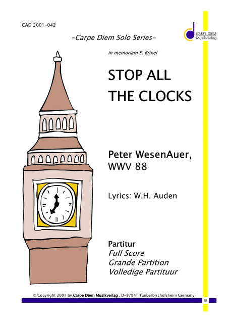 Stop all the Clocks