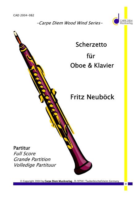 Scherzetto fur Oboe & Klavier