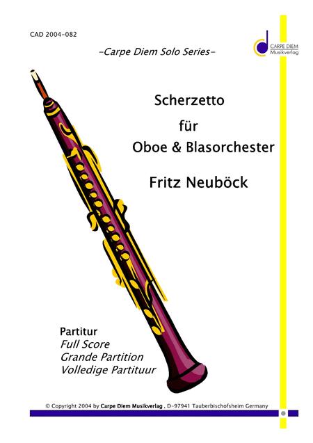 Scherzetto fur Oboe & Blasorchester