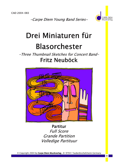 Drei Miniaturen fur Blasorchester