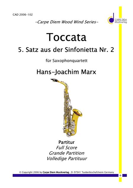 Toccata - 5. Satz aus der Sinfonietta Nr.2
