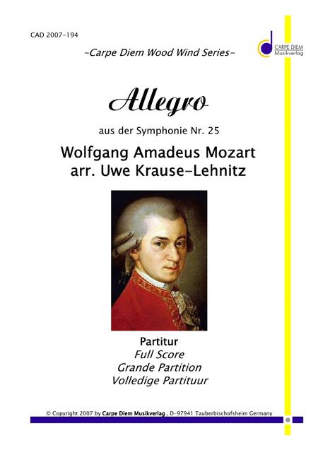 Allegro aus der Symphonie Nr. 25